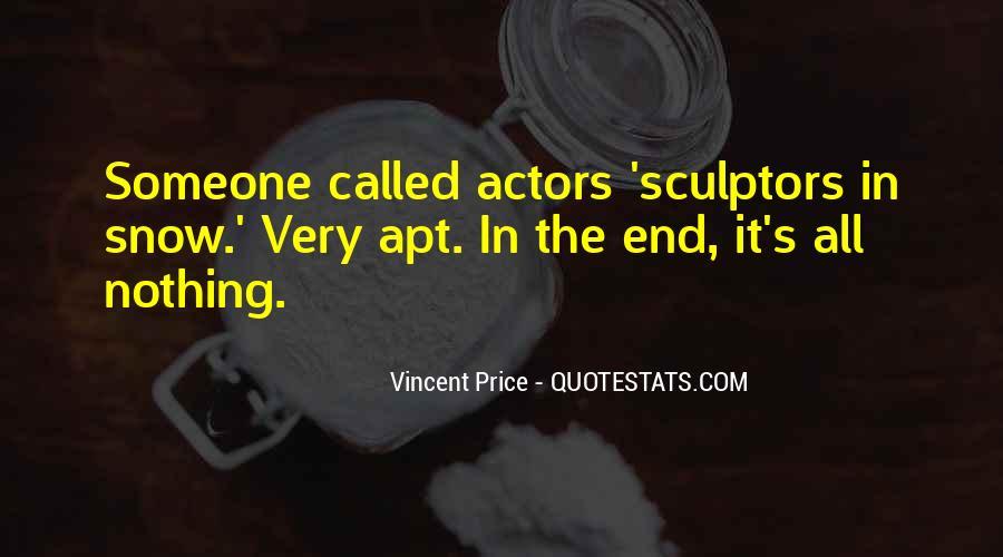 Quotes About Sculptors #226525