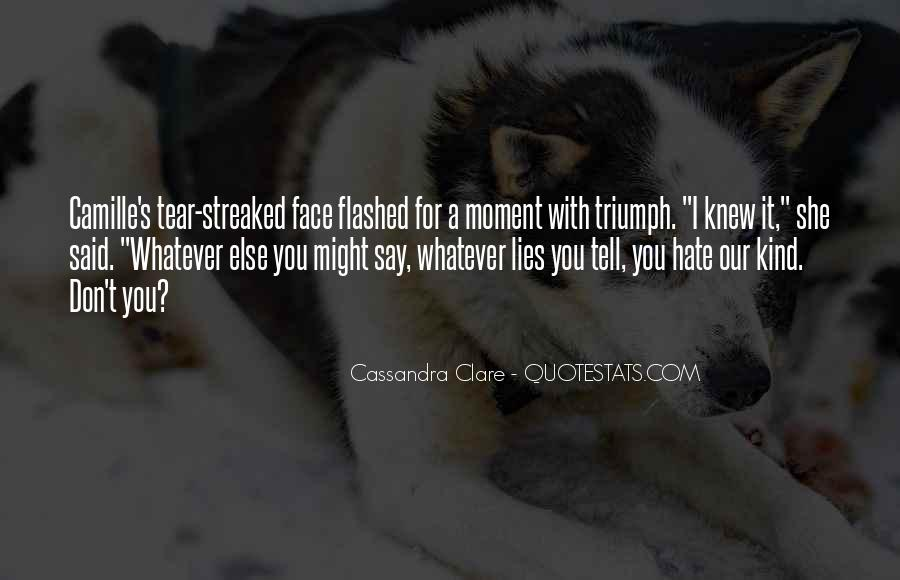 Quotes About Face To Face #9123