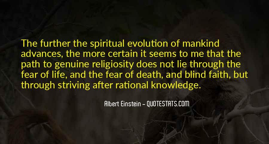 Quotes About Death By Albert Einstein #1033796