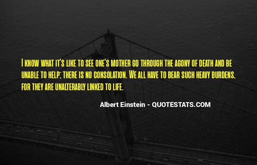 Quotes About Death By Albert Einstein #1039734