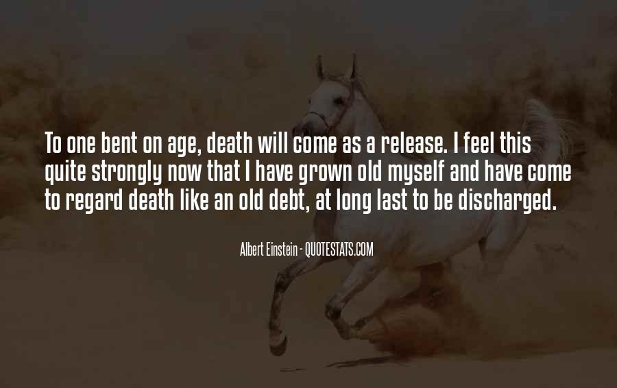 Quotes About Death By Albert Einstein #209143