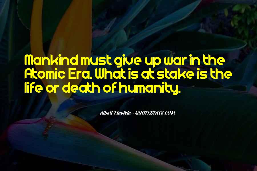 Quotes About Death By Albert Einstein #260482