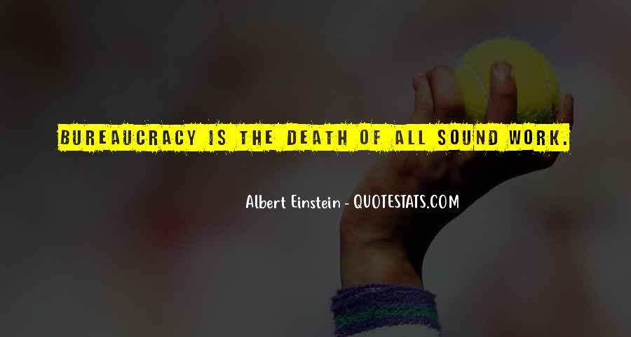 Quotes About Death By Albert Einstein #294034