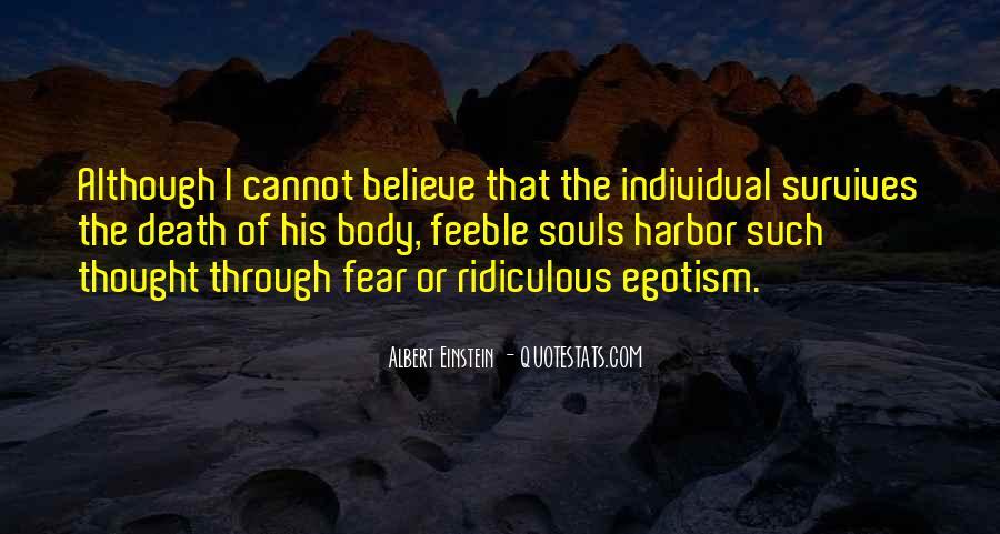 Quotes About Death By Albert Einstein #689390