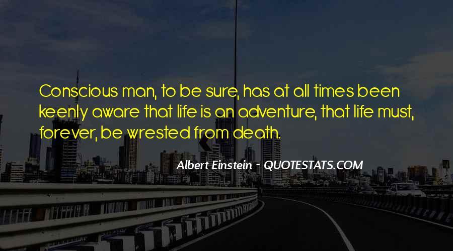 Quotes About Death By Albert Einstein #950958