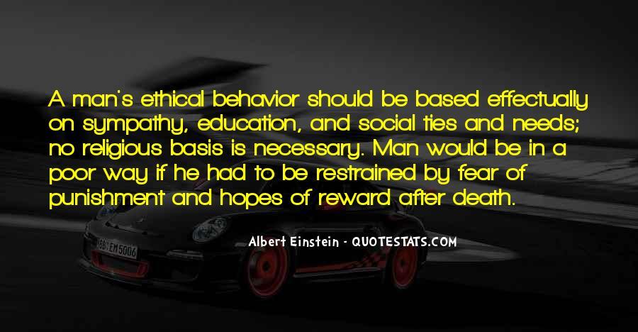 Quotes About Death By Albert Einstein #954794
