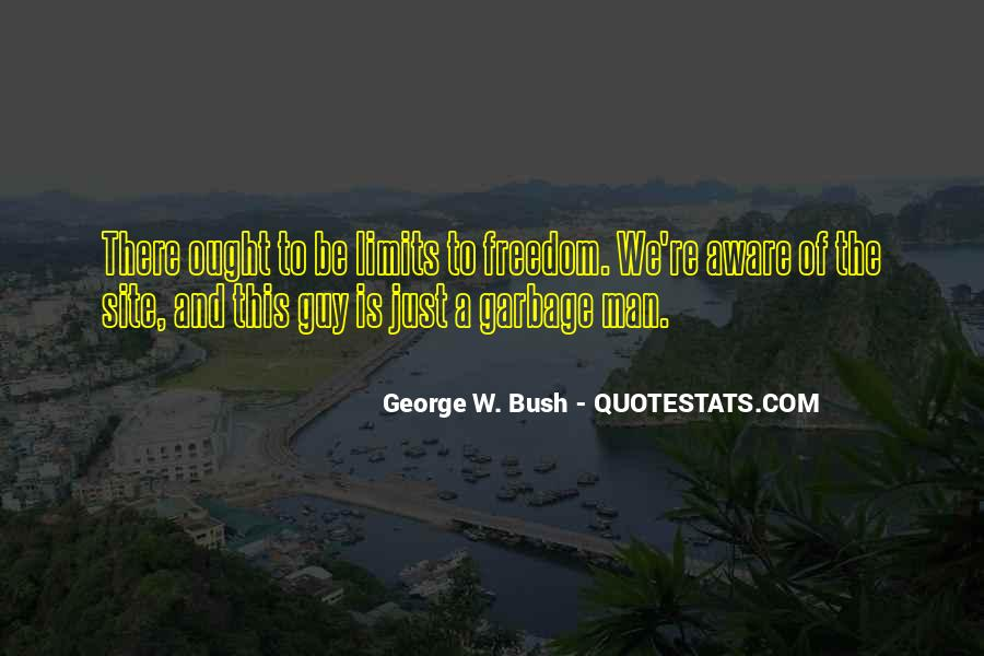 Quotes About Garbage Man #1669413