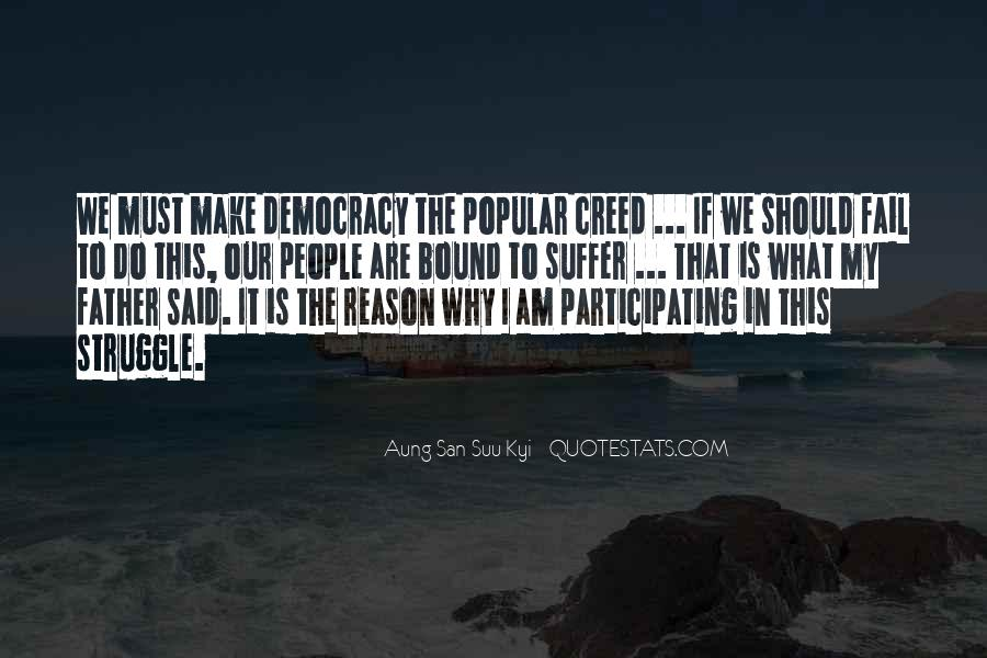 Quotes About Participating In Democracy #1462593