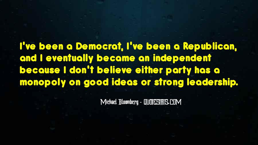 Quotes About Participating In Democracy #32768