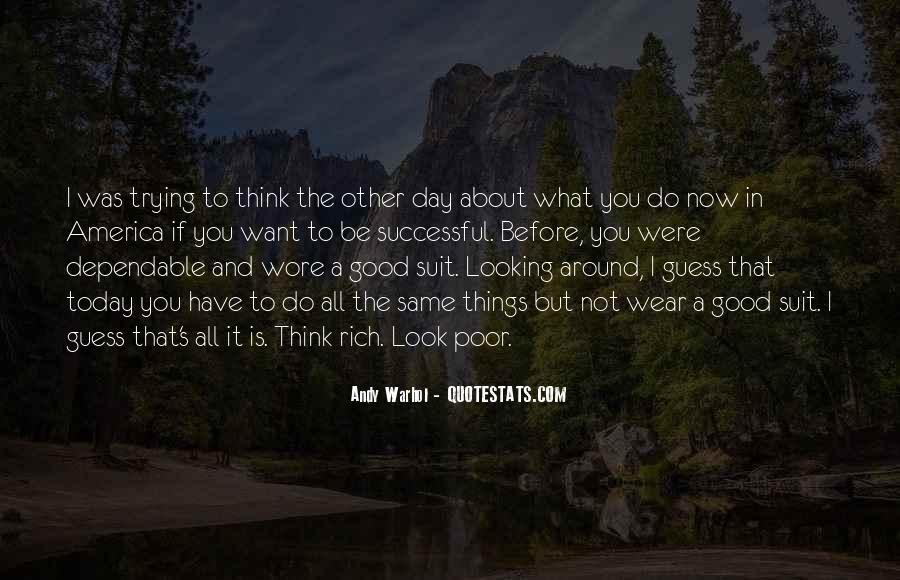 Quotes About Looking Good In A Suit #1337763