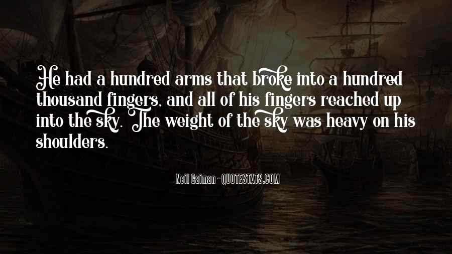 Quotes About Weight On Your Shoulders #310716