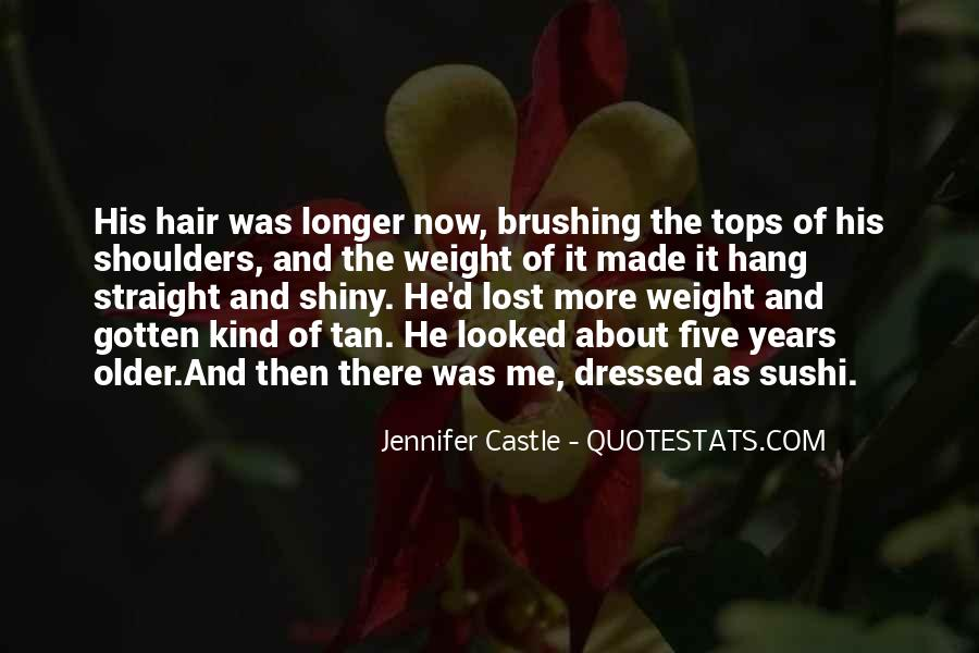 Quotes About Weight On Your Shoulders #794892