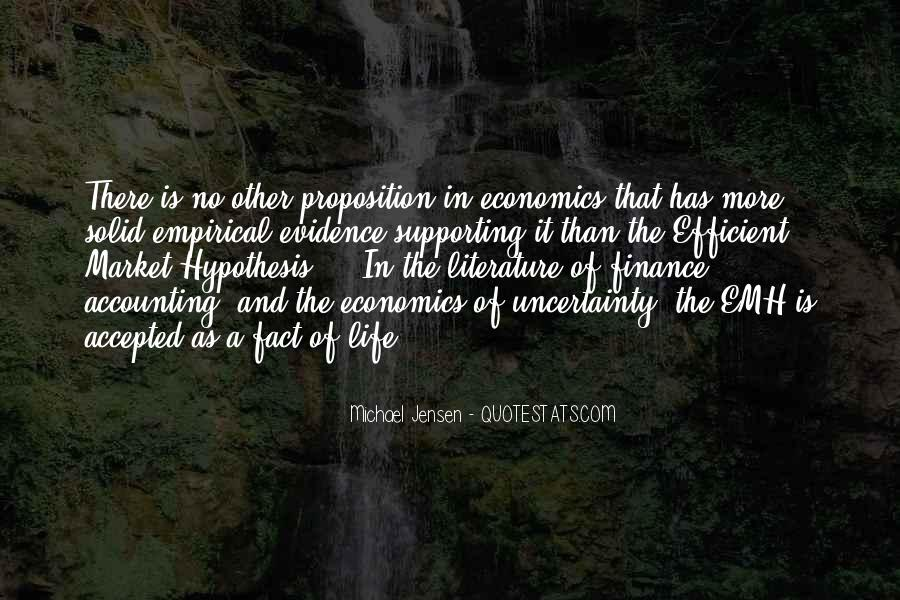 Quotes About The Uncertainty Of Life #153556