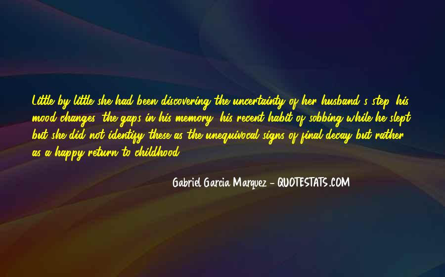 Quotes About The Uncertainty Of Life #611507
