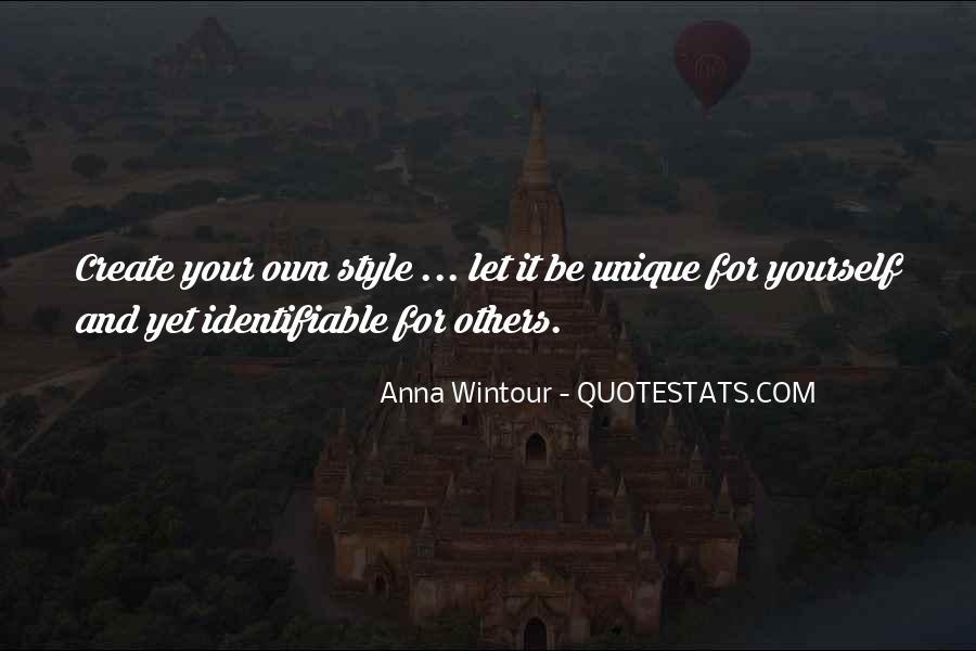 Quotes About Women's Uniqueness #1875017