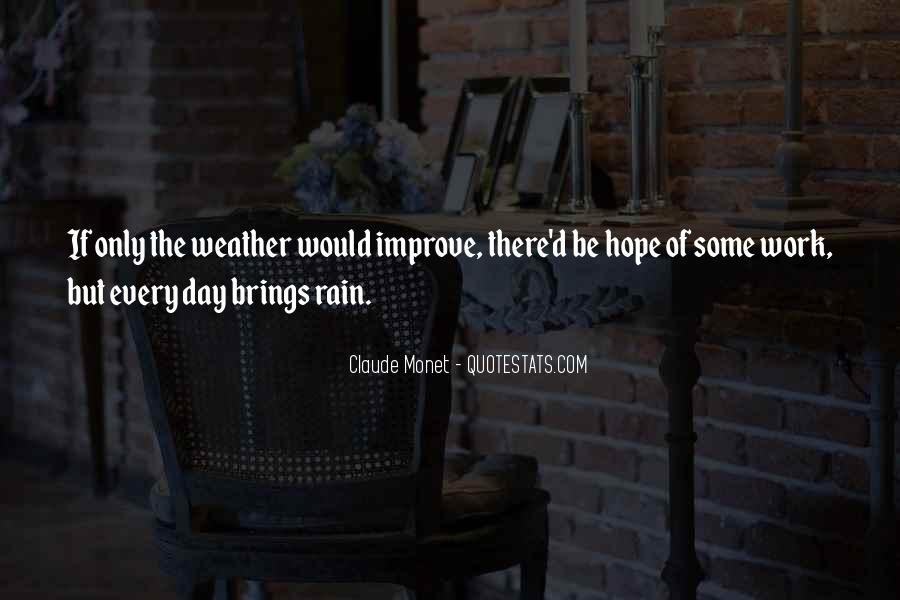 Quotes About Weather Rain #1001116