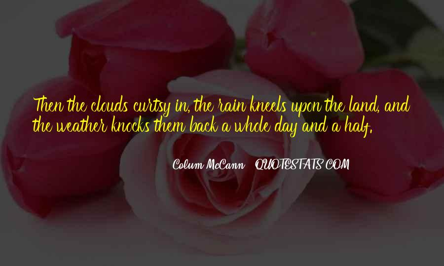 Quotes About Weather Rain #1019537