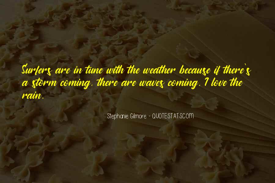 Quotes About Weather Rain #1082887