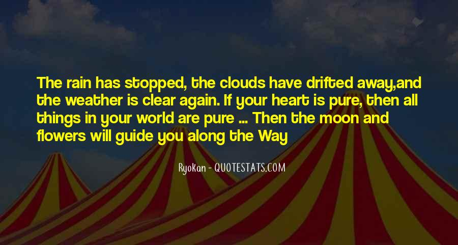 Quotes About Weather Rain #1282415