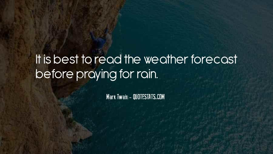 Quotes About Weather Rain #132096