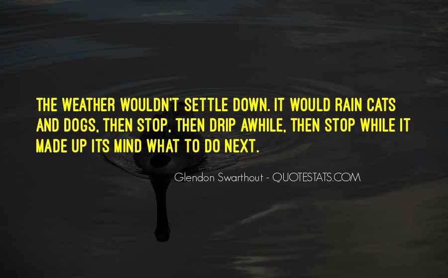 Quotes About Weather Rain #1379015