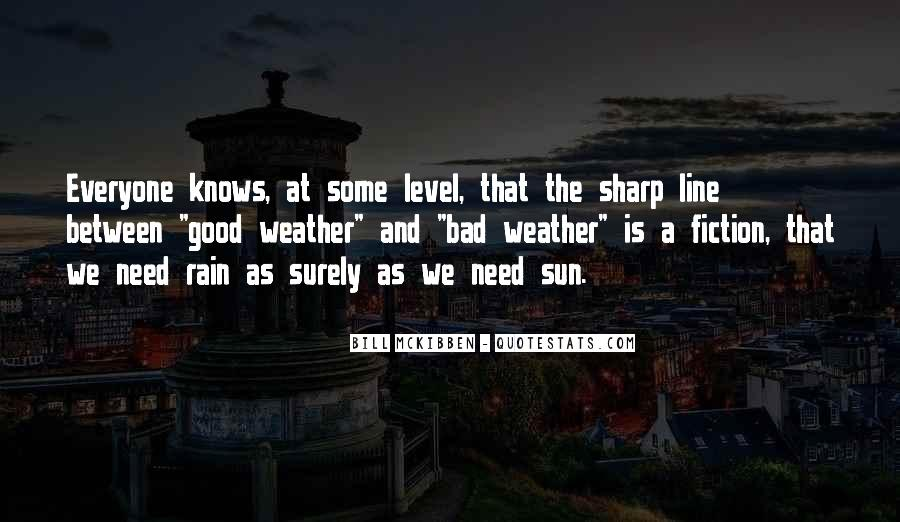 Quotes About Weather Rain #1502814