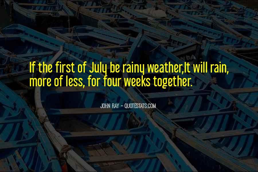 Quotes About Weather Rain #1529461
