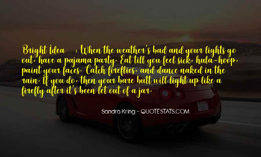 Quotes About Weather Rain #158713