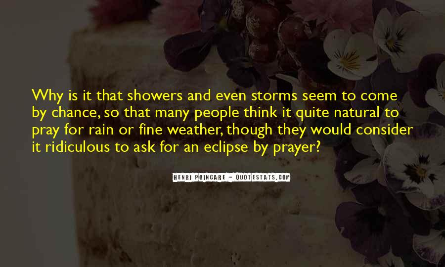 Quotes About Weather Rain #163487