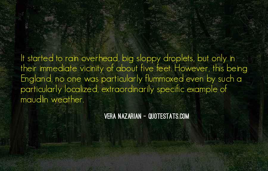 Quotes About Weather Rain #1735315