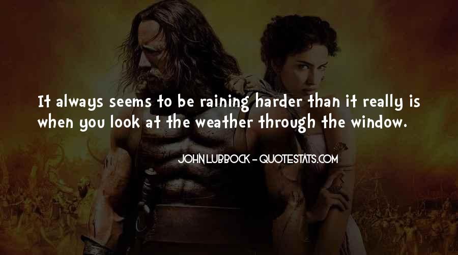 Quotes About Weather Rain #176008