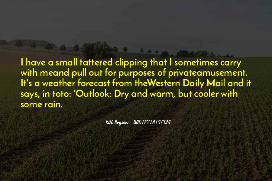 Quotes About Weather Rain #177701