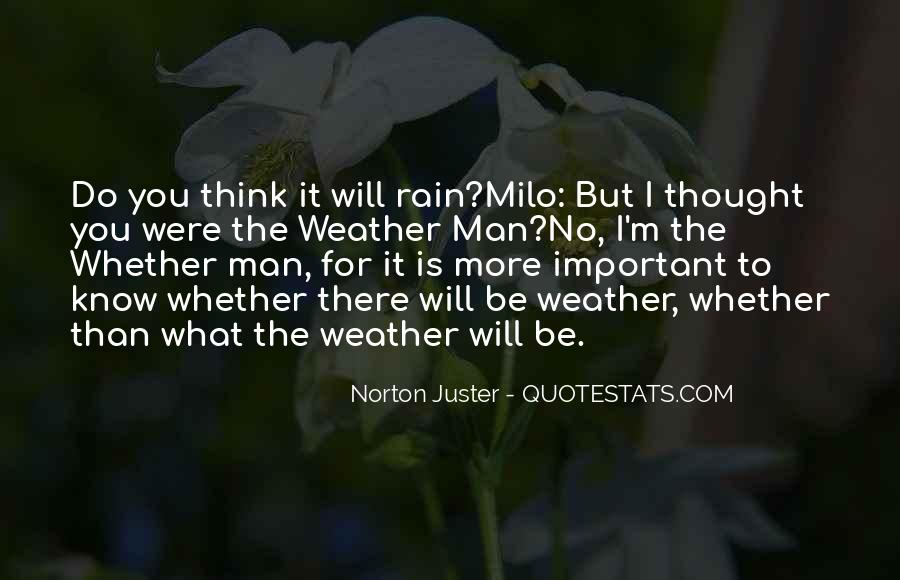 Quotes About Weather Rain #280776