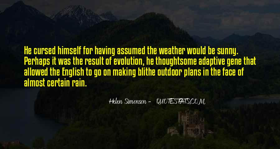Quotes About Weather Rain #323349