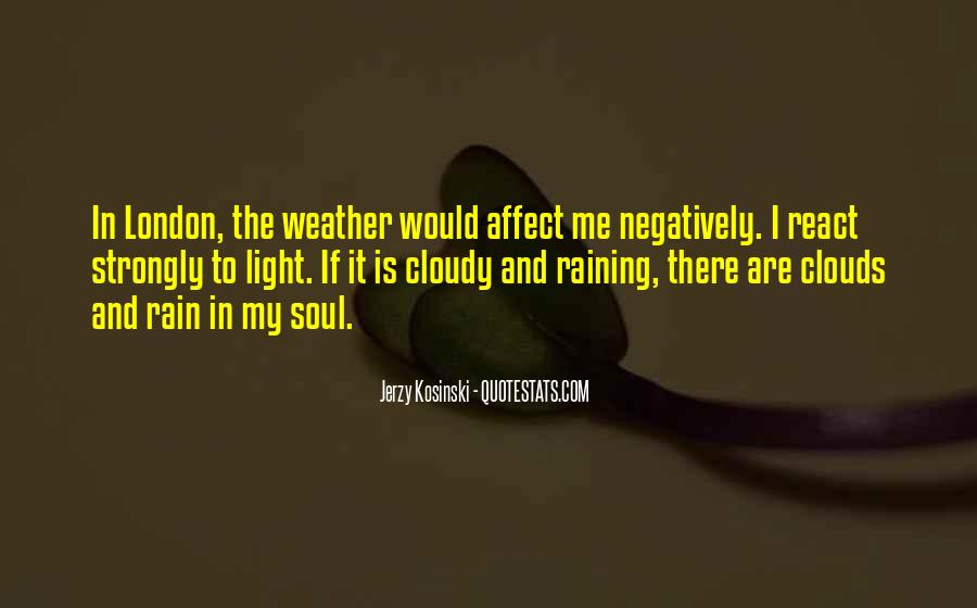 Quotes About Weather Rain #361663