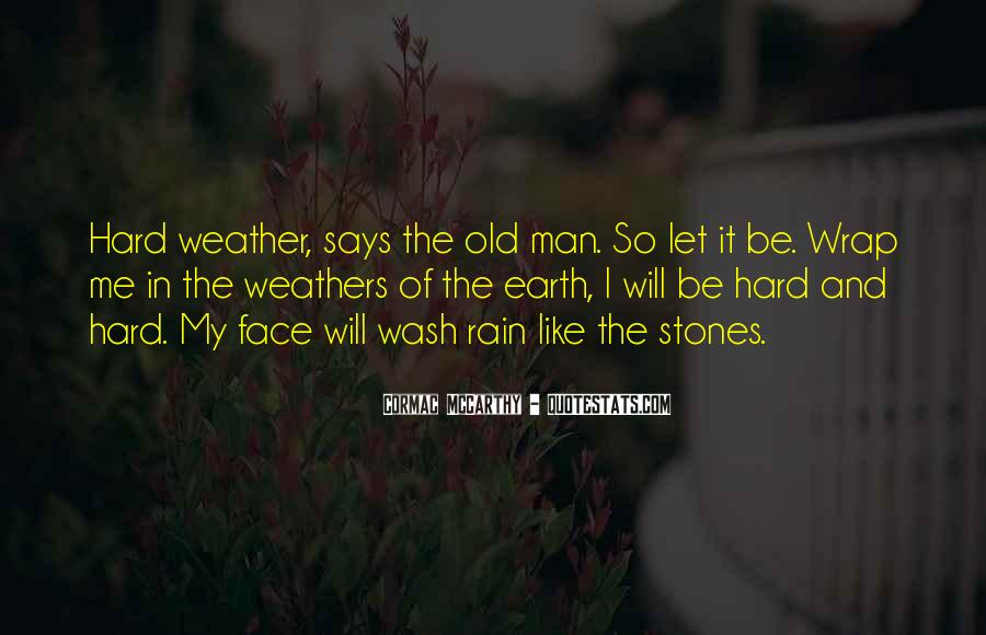 Quotes About Weather Rain #389865