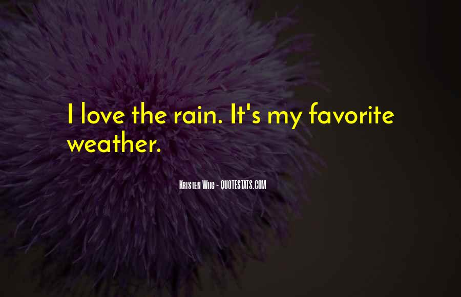 Quotes About Weather Rain #389937