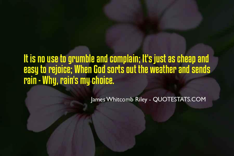 Quotes About Weather Rain #509739