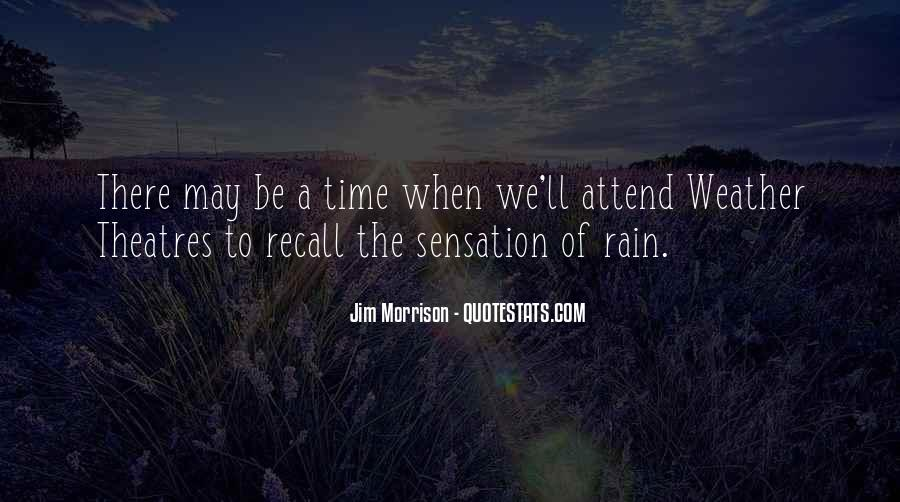 Quotes About Weather Rain #58912