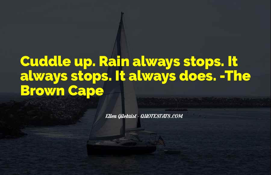 Quotes About Weather Rain #621497