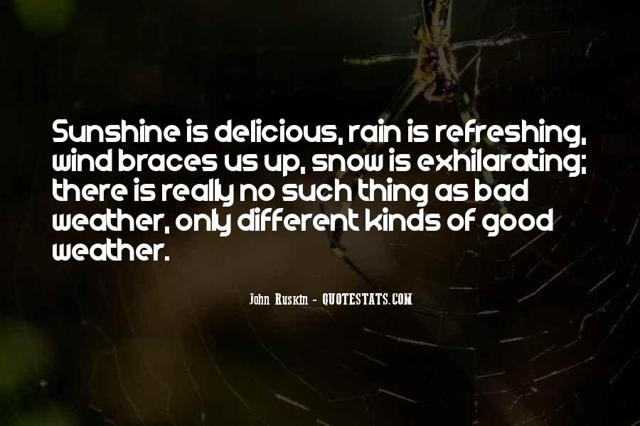 Quotes About Weather Rain #712768