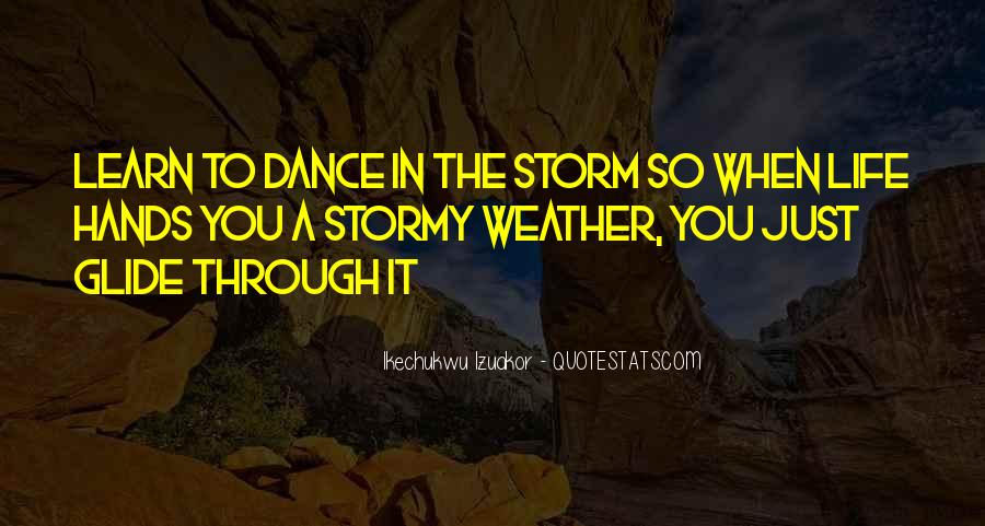 Quotes About Weather Rain #759005