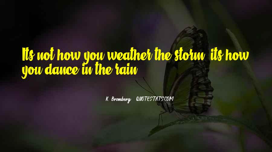 Quotes About Weather Rain #916013