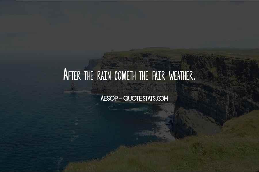 Quotes About Weather Rain #957954