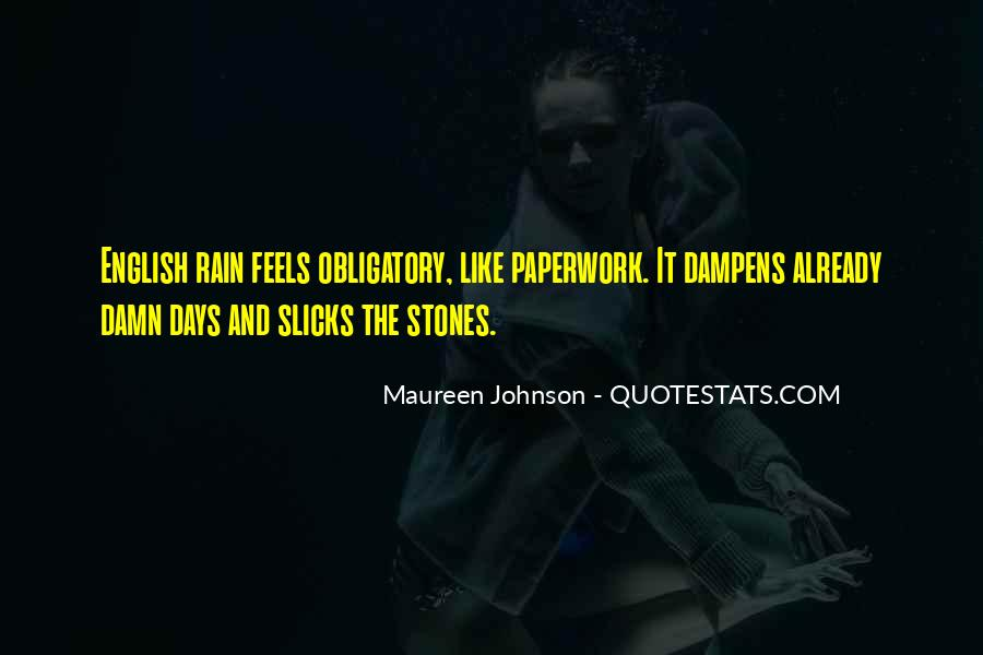 Quotes About Weather Rain #985031