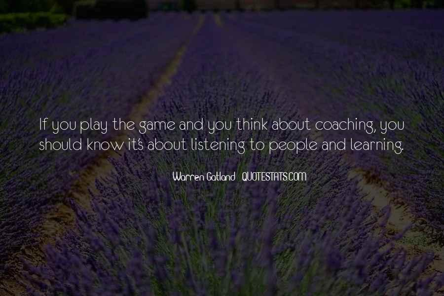 Quotes About Learning Through Games #1416778