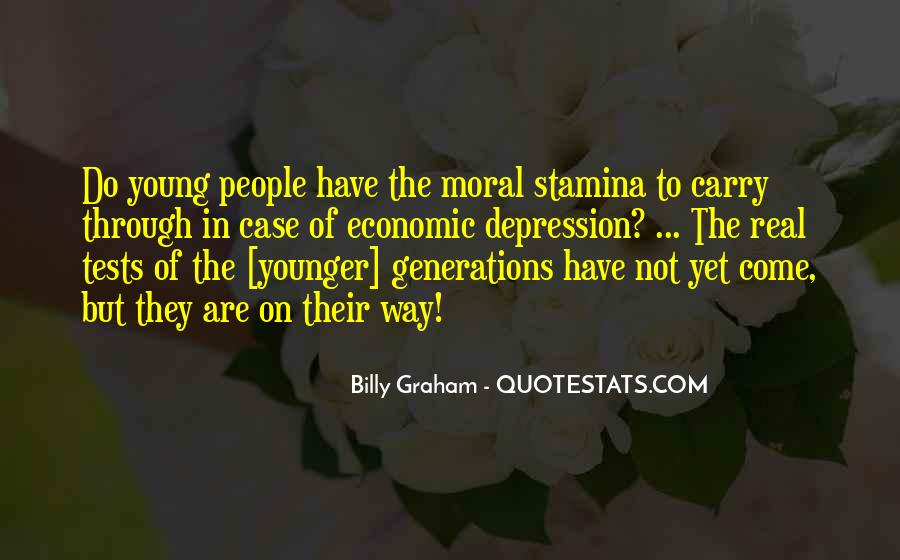 Quotes About Younger Generations #1298629
