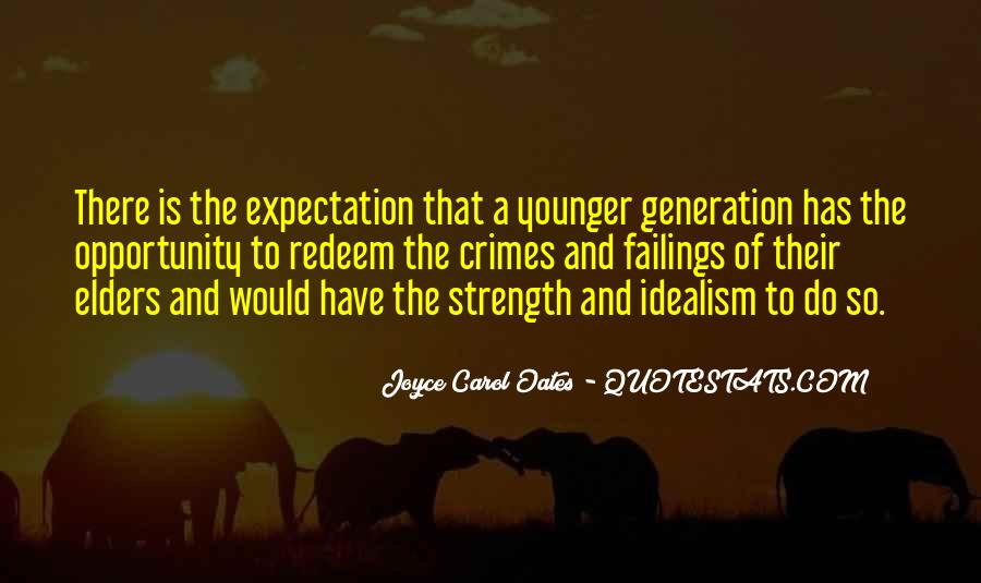 Quotes About Younger Generations #1413909