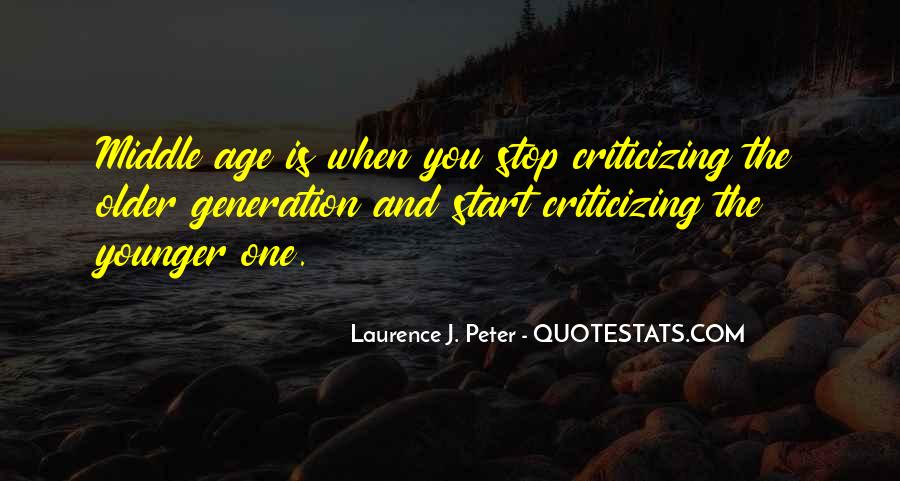Quotes About Younger Generations #152599