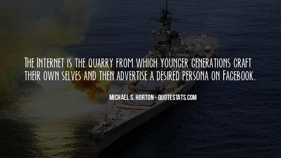 Quotes About Younger Generations #1743180